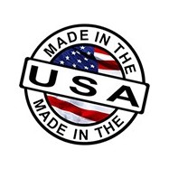 Logo made in USA sur images produits