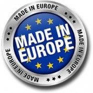 Logo made in Europe sur images produits