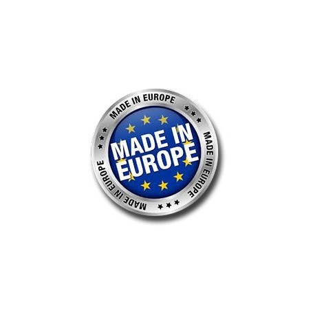 Made in Europe logo on products images