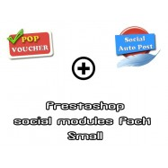 Prestashop social modules pack - Small